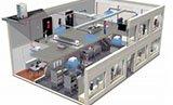 Система вентиляции в офисе и на предприятии
